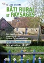 """Exposition """"Bâti rural et paysages"""" à Cluny (71) du 3 au 11 novembre 2015"""
