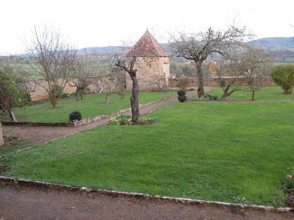 Jardin du doyenné de Mazille