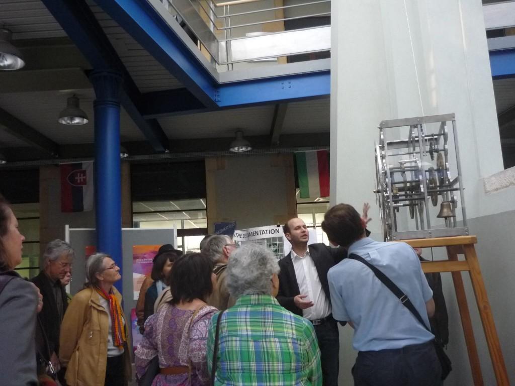 Visite ateliers ENSAM