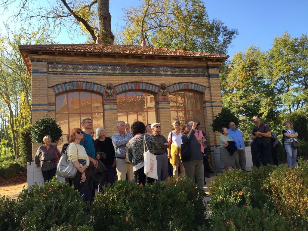 Visite de la Villa Perrusson, de son parc et des maisons décorées d'Ecuisses avec l'Ecomusée Creusot Montceau