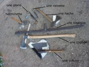 Photo Ismaël Houberdon, charpentier et adhérent de MP71