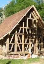 Initiation à la charpente traditionnelle Samedi 8 juillet 2017 En Bresse