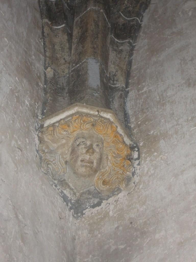 Détail chapelle du doyenné de Mazille