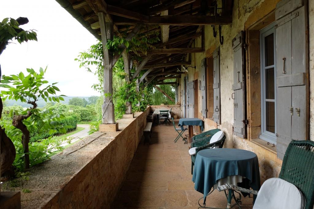 Galerie de l'ancienne maison de vignerons