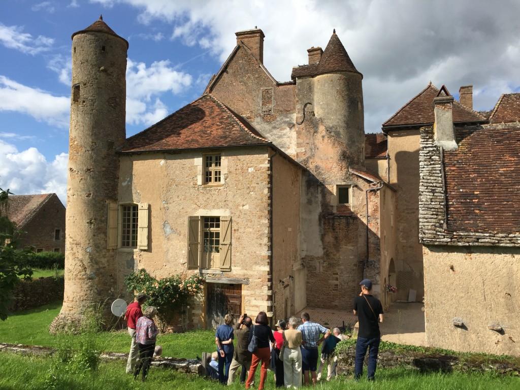 MP71 au chateau de Balleure