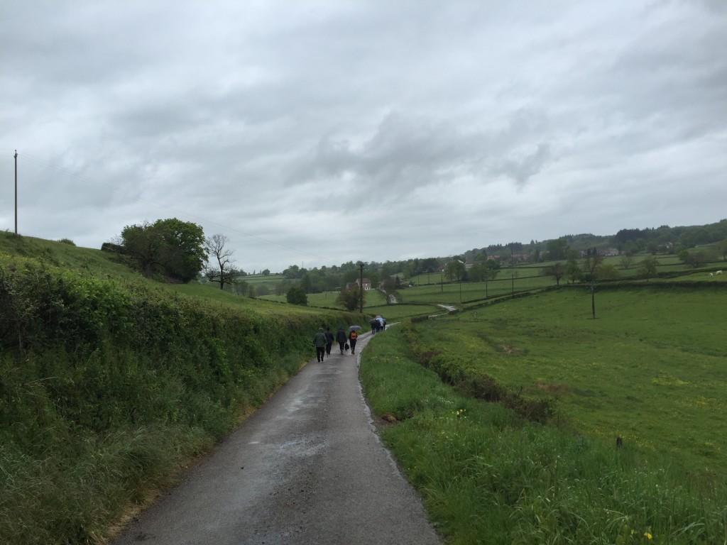 En route pour St Ambrun