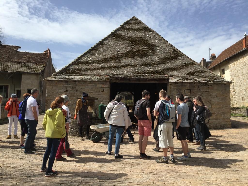 Journées des Métiers d'Art au château de Brancion