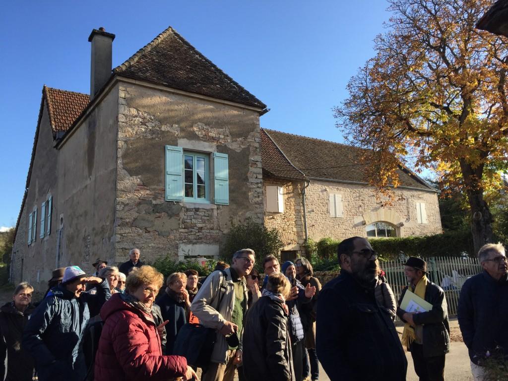 MPF AG 2019 LAIVES La Ruée Devant maison tailleur de pierres